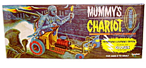 'Mummy's Chariot' Polar Lights Glows in Dark Model Kit (Image1)