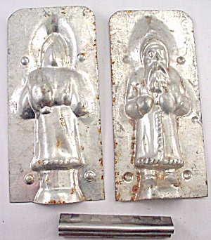 Early Santa Claus Christmas Chocolate Mold (Image1)