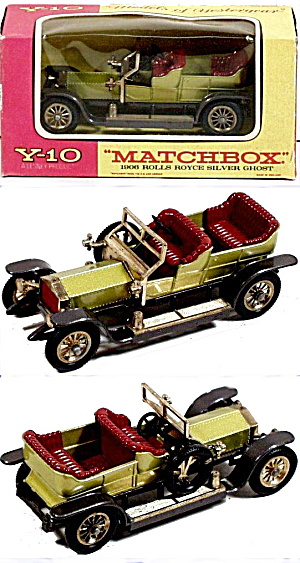 Matchbox Models Of Yesteryear Y-10 Silver Ghost