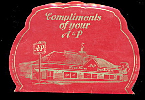 1950s A & P Stores Needle Book
