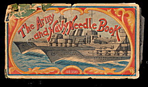 1918 'the Army & Navy Needle Book' , Old
