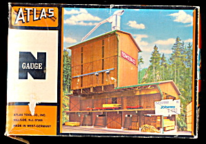 Atlas N Scale Lumber Mill Kit Mint in Box (Image1)