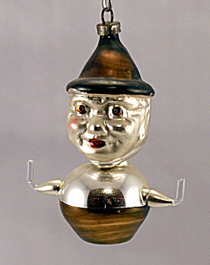 Early 1900s Hans Head Clown Annealed Ornament (Image1)