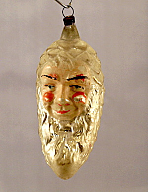 Early 1900s Pine Cone Man Christmas Ornament (Image1)