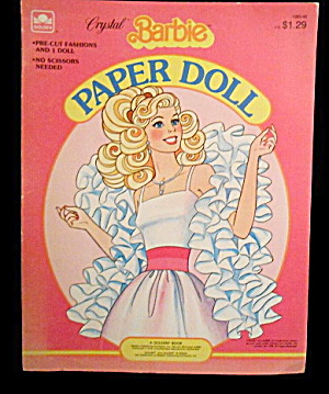 1983 Crystal Barbie Paper Dolls