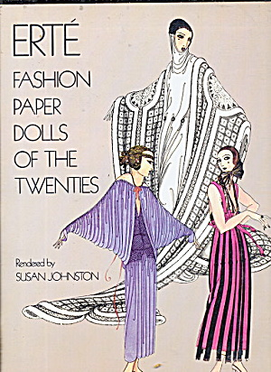 1978 Erte Fashion Paper Dolls