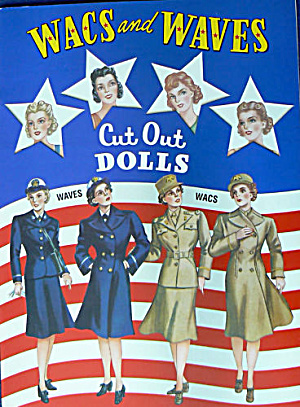Wacs & Waves (Wwii Military Women) Paper Dolls