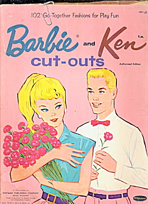 1962 Barbie & Ken Cut-outs Paper Dolls