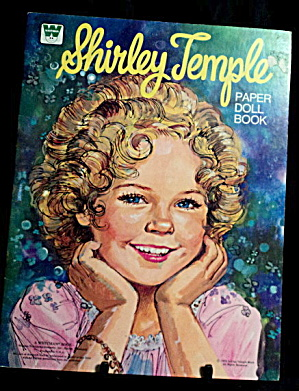 1976 Whitman Shirley Temple Paper Dolls