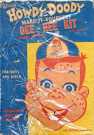1950s Howdy Doody Bee-nee Kit