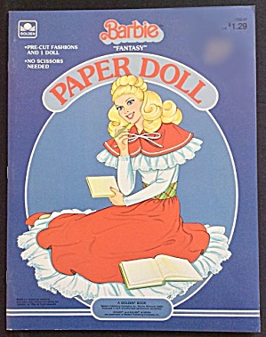 1984 Fantasy Barbie Paper Dolls