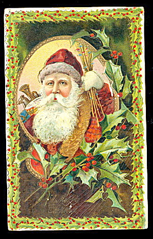 Santa Claus/father Christmas 1906 Postcard