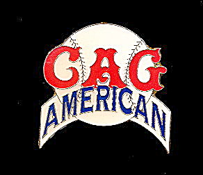 CAG Chicago American Giants Baseball Enamel Pin (Image1)