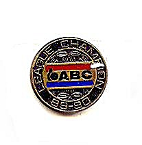 1989-1990 ABC Bowling League Champion Pin (Image1)