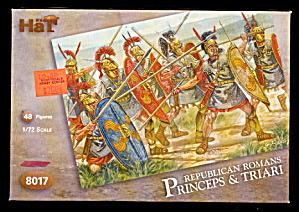 1/72 HAT 8017 Romans Princeps Und Triari Soldiers (Image1)