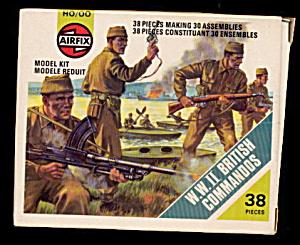 Airfix WW II British Commandos 1977 Plastic Soldiers (Image1)