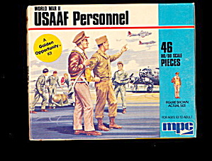 MPC WWII USAAF Personnel 1/72 Plastic Soldiers (Image1)
