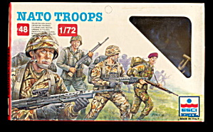 ESCI 1/72 NATO Troops Plastic Soldiers (Image1)