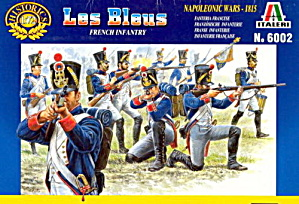 Italeri Les Bleus French Infantry Soldiers #6002