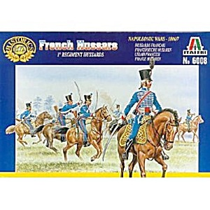 Italeri French Hussars Soldiers #6008