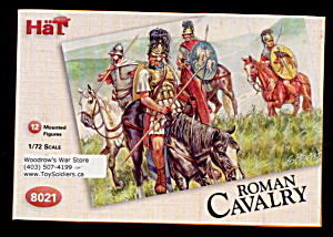 1/72 HAT 8021 Romans Cavalry Soldiers (Image1)