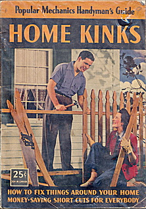 1943 Popular Mechanics 'home Kinks' Magazine