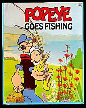"1980 ""popeye Goes Fishing"" Wonder Book"
