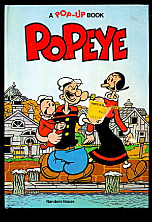 1981 Popeye - Pop-up 1981 Random House Book