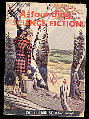 June 1959 Astounding Science Fiction Magazine (Image1)