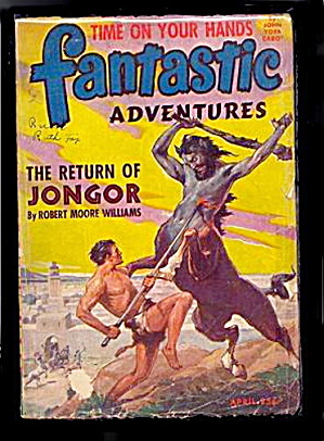 April 1944 'Fantastic Adventures' Pulp Magazine (Image1)