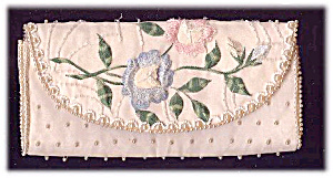 Vintage 'Bags by Debbie' Embroidered Clutch Bag (Image1)
