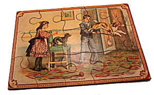 "Early 1900s ""training The Dog"" Puzzle"