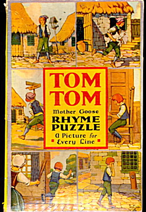 1924 Tom Tom Mother Goose Rhyme Puzzle (Image1)