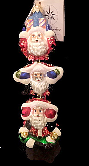 Christopher Radko Santa Bonanza Ornament In Box