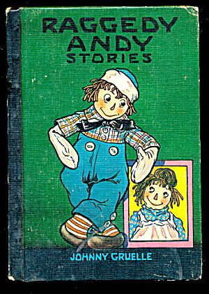 'raggedy Andy's Stories' Johnny Gruelle Book