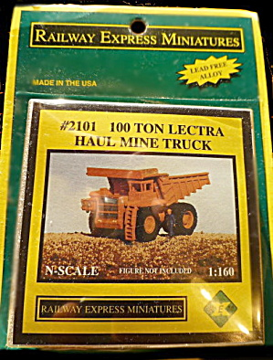 Railway Express Miniatures Haul Mine Truck