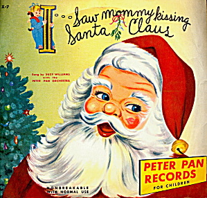 1953 'saw Mommy Kissing Santa Claus' 45 Record