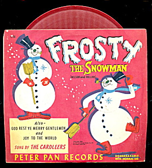 1953 'frosty The Snowman' 45 Rpm Record