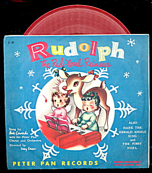 1953 'rudolph The Red-nosed Reindeer' 45 Rpm Record