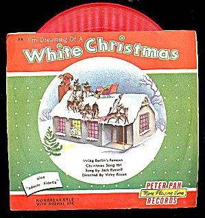 1953 Im Dreaming Of A White Christmas 45 Rpm Record