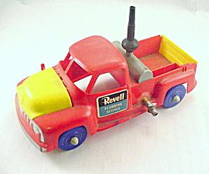 1950s Revell Hard Plastic Plumbing Service Truck (Image1)