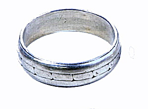 Early .925 Sterling Silver Unisex Ring
