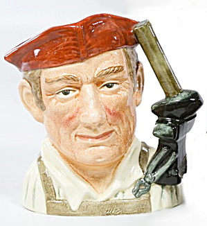 Large Royal Doulton Character Jug Blacksmith D6571