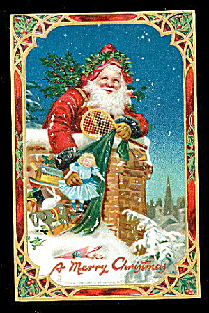 1907 Tucks Santa Claus Frances Brundage Postcard