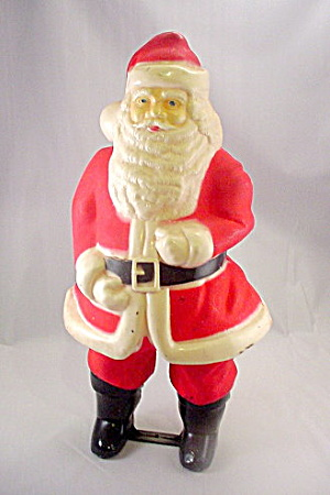 "17"" 1940s Hard Plastic Santa Claus Light (Image1)"