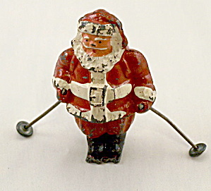 "B195 Barclay ""Santa Claus on Skis"" ca 1935 (Image1)"