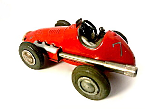 Us Zone Germany Schuco #1040/0 Red Micro Racer