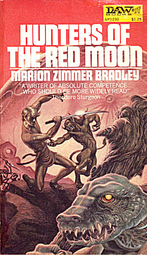 "1973 ""hunters Of The Red Moon"" Book"