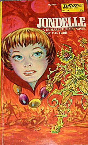 """1973  """"Jondelle"""" E C Tubbs Sci-Fi Book (Image1)"""