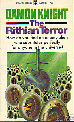 "1965 ""The Rithian Terror"" Knight Sci-Fi Book (Image1)"
